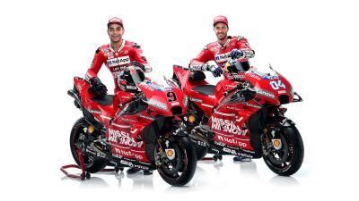 Luncurkan Motor Baru, Ducati Ganti Nama Jelang MotoGP 2019