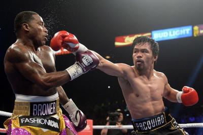 Menang Mutlak atas Broner, Pacquiao Pertahankan Gelar WBA
