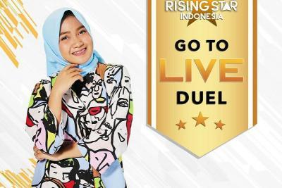 Dinaungi Keberuntungan, Athifa Anggraini Lolos ke Live Duel Rising Star Indonesia