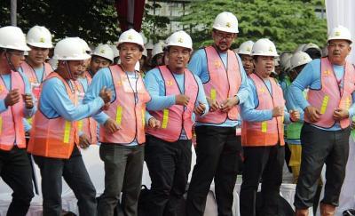300.000 Tenaga Konstruksi Ditargetkan Miliki Sertifikat Tahun Ini