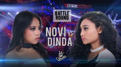 Novi Vs Adinda di Battle Round The Voice Indonesia, Ini Pilihan Anggun