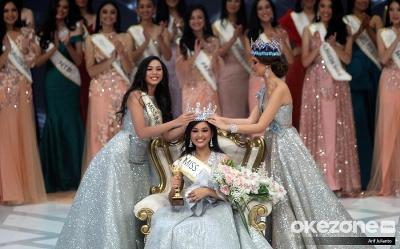 Smiling All the Time, Gelar Miss Indonesia 2019 Tak Jadi Beban bagi Princess Megonondo
