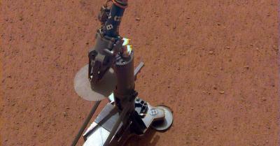 NASA InSight 'Ngebor' Tanah Mars hingga Kedalaman 16 Kaki
