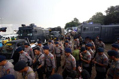 Amankan Debat Pilpres Kedua, Polda Metro Jaya Kerahkan 2.981 Personel