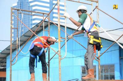 Tak Ingin Bangun Infrastruktur Asal Jadi, PUPR Tingkatkan Ahli K3 Konstruksi