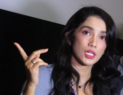 Gara-Gara Syuting Film Horor, Tubuh Ussy Sulistiawaty Penuh Memar