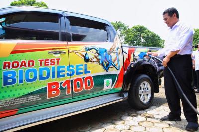 Mentan: Impian Indonesia Ciptakan Biodisel 100% Berhasil Terwujud