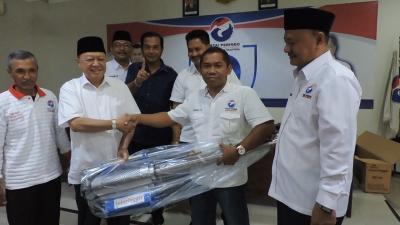 Marak DBD, Caleg Perindo Siswadi Selodipoero Bagikan Tiga Alat <i>Fogging</i>