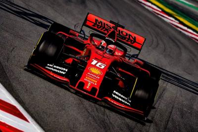 Leclerc Kecewa hanya Ferrari yang Tampil Maksimal di Tes Barcelona