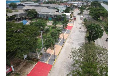 Bekasi Bangun Trotoar Ramah Disabilitas