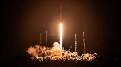 Intip Video Peluncuran Satelit Nusantara Satu