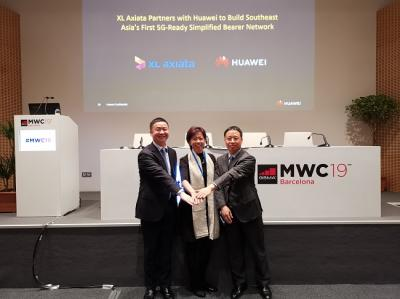 Huawei dan XL Axiata Umumkan Kerjasama Jaringan Berorientasi 5G