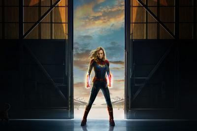 2 Pekan di Puncak Box Office, Pendapatan Captain Marvel Turun 50 Persen