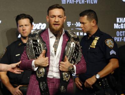 Presiden UFC Sebut McGregor Siap Lawan Siapa pun