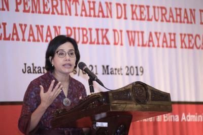 Sri Mulyani: Saya Benci Kalau Dana Desa Dikorupsi