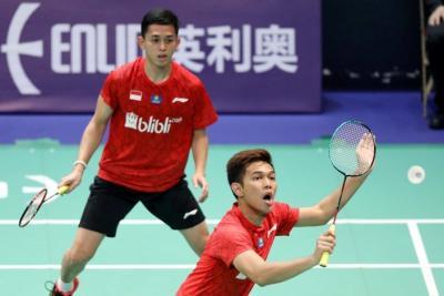 Indonesia Atasi Perlawanan Thailand di Tong Yun Kai Cup 2019
