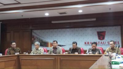 Bos Krakatau Steel Terkejut Direksinya Kena OTT KPK