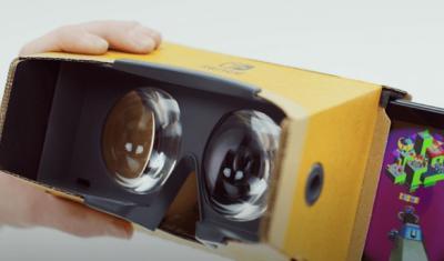 Nintendo Bikin Perangkat VR dengan Bahan Kardus