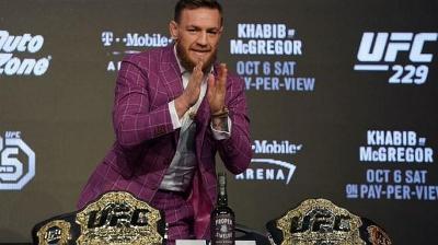 McGregor Minta Jatah Saham dari Presiden UFC