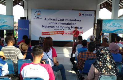 Tingkatkan Hasil Tangkapan, XL Axiata Kenalkan Aplikasi 'Laut Nusantara' ke Nelayan Banyuwangi
