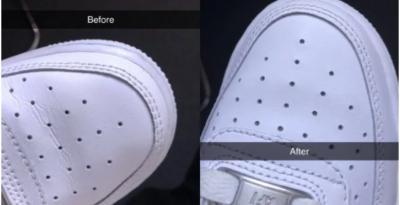 Tutorial Hilangkan Kerutan di Sneaker Viral di Twitter, Genius!