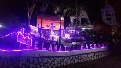 Cantiknya Semarak Pernak-pernik Paskah di Manado