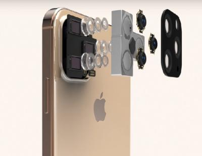 Inikah Desain iPhone 11 dengan Lubang Kamera yang Besar?