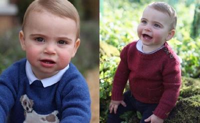 Foto Gemas Pangeran Louis di Ulang Tahun Pertamanya, Difoto Kate Middleton Lho!