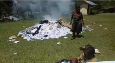 KSP Bantah Pembakaran Dokumen Pemilu di Papua