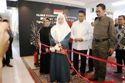 Gedung Baru Klinik Kesehatan Haji Indonesia di Madinah Lebih Memadai