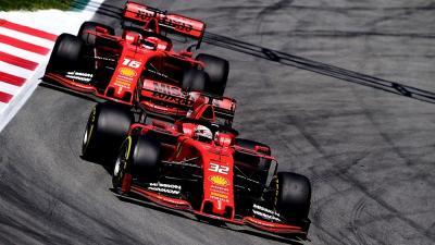 Ban Jadi Masalah Utama Ferrari sejak Awal Musim F1 2019