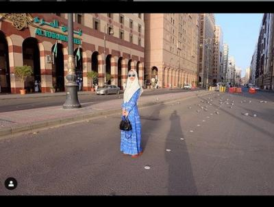 Inspirasi Hijab Cantik ala Aura Kasih