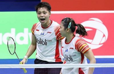 Indonesia Menang 4-1 atas Inggris di Piala Sudirman 2019