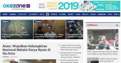 Geser Detik.com, Okezone.com Jadi Portal Berita Nomor 2 di Indonesia