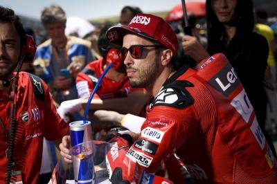 Ducati Kurang Kompetitif, Dovizioso Pesimis Saingi Marquez Jadi Juara Dunia