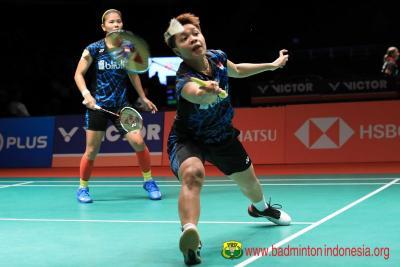 Greysia Apriyani Menang, Indonesia Takluk 2-3 dari Denmark