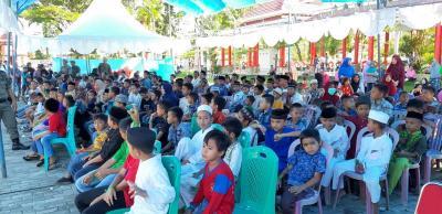 BUMN Hadir untuk Negeri, ANTAM dan BUMN Gelar Seribu Santunan di Kolaka