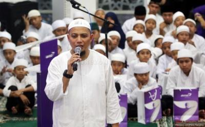 Hari Meninggalnya Ustadz Arifin Ilham bersamaan dengan Momen Allah SWT Ciptakan Cahaya