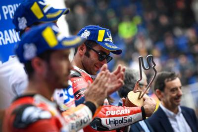 Ciabatti Sebut Petrucci Sukses Penuhi Ekspektasi Ducati