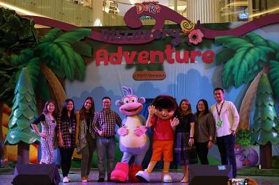 Liburan Sekolah, MNC Licensing-Pluit Village Hadirkan Karakter Dora dan Boots