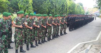 Amakan Gedung MK, TNI-Polri Dapat Dukungan Moral