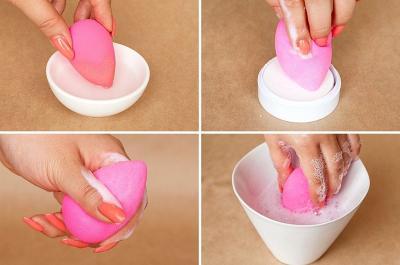 Penuh dengan Bakteri, Ini Cara Tepat Mencuci Spons Make-Up