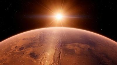 NASA Abadikan Foto Objek Mirip Lambang 'Star Trek' di Mars