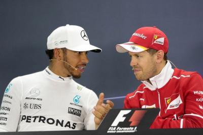Vettel Akui Hamilton Lebih Cepat darinya