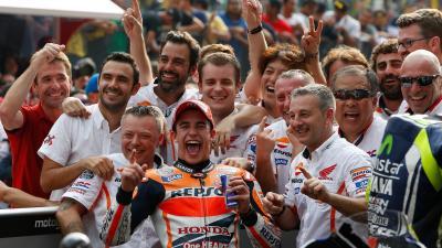 Rossi Sebut Marquez Tak Hanya Cepat tapi Juga Pintar