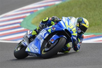 Mir Bahagia Finis Ke-6 di MotoGP Catalunya 2019