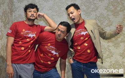 Pandji Pragiwaksono hingga Dwi Sasono Bocorkan Adegan Tak Terduga di Film DOA: Mendadak Kaya