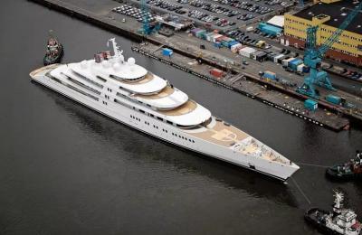 Intip Isi Yacht Super Mewah Milik Roman Abramovich Senilai Rp6,8 Triliun, Bikin Melongo!