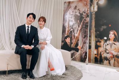 So Sweet, Jung Hae In dan Han Ji Min Kencan Romantis di One Spring Night