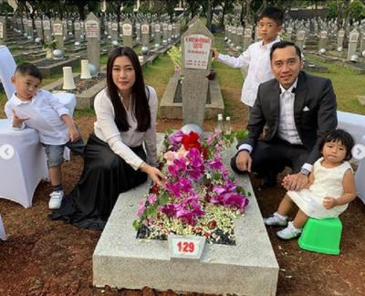 Posting Foto di Makam Ani Yudhoyono, Ibas dan Keluarga Dihujat Netizen